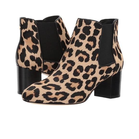e19467b62cb 💓SALE🎉NIB Kate Spade Leah leopard boots